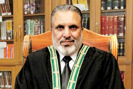 Justice Ghulam Mustafa Mengal