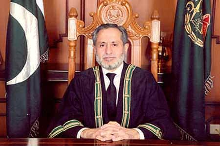 Jusitce Jamal Khan Mandokhail
