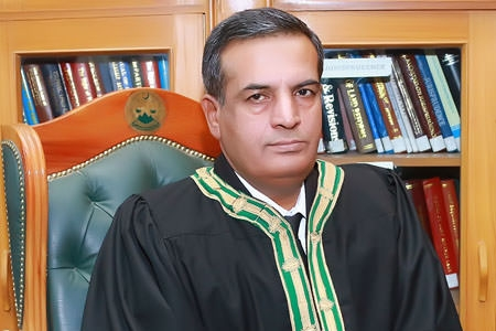 Justice Nazeer Ahmed Langove