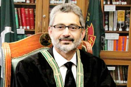 Justice Qazi Faez Isa