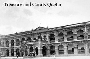 Treasury and courts, Quetta