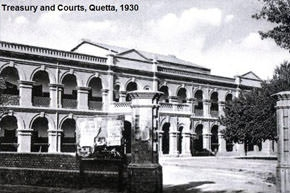Treasury and courts (1930), Quetta